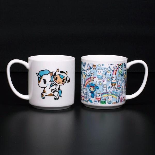 Tokidoki - Stapelbare Tassen 2er-Set - zwei Motiv Kaffee Becher 275ml