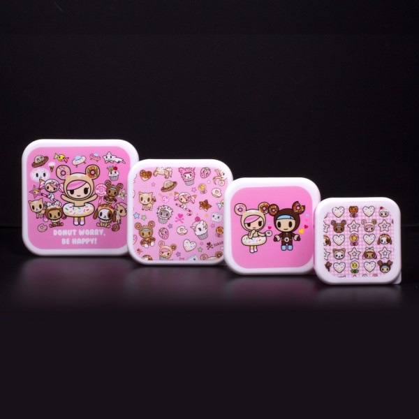 Tokidoki - Snackboxen Lunchbox 4er-Set