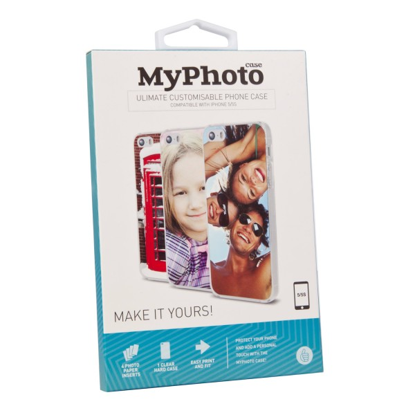 MyPhoto Case bedruckbares Cover print iPhone 5 5S SE - Thumbs Up