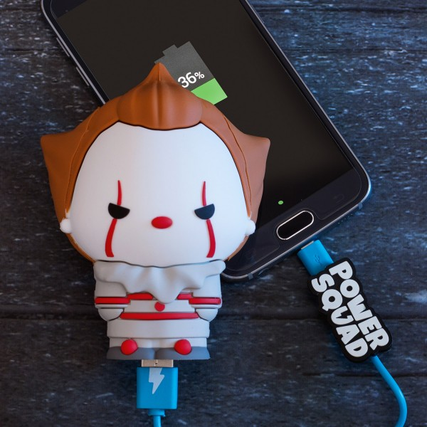 PowerSquad - Figur als Powerbank Pennywise - Warner Bros.
