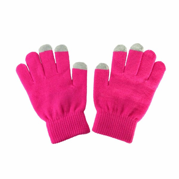 Smart Glove Handy Handschuhe (pink) für iPhone/iPad - Thumbs Up