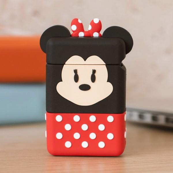 """PowerSquad - Flip Retractable Cable """"Minnie Mouse"""""""