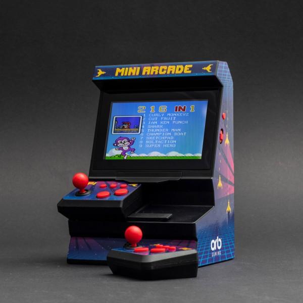ORB - Mini Arcade Machine mit Dual-Controller (300 Spiele)