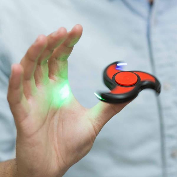 Anti-Stress-Handkreisel - LED Fidget Spinner