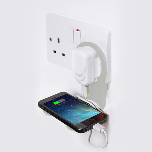 Smartphone Ladehalterung - Charging Shelf - Thumbs Up