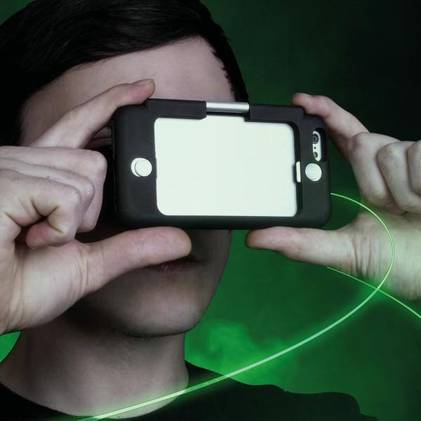 Virtual Reality Immerse Case Schutzhülle mit VR für iPhone 6 6S 7 Neuheit