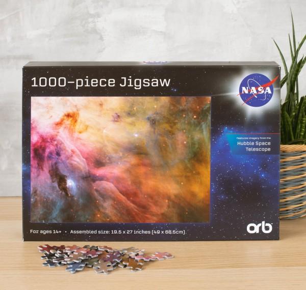 NASA 1000-teiliges Puzzle - Weltraum (v3) gelb