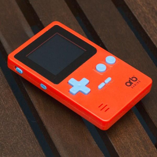 ORB - Retro Console Handheld rot - inkl. 152x 8-Bit Spielen