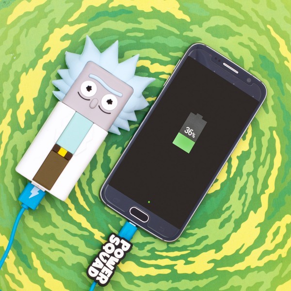 PowerSquad Rick & Morty Powerbank Rick Cartoon Network