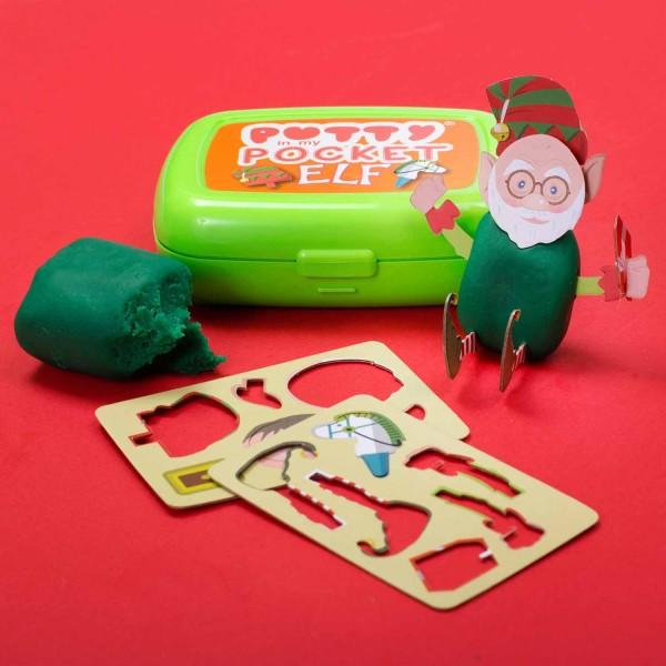 """Knet Set """"Elf"""" - Weihnachts elf bastel Set - lustige Geschenkidee Christmas"""