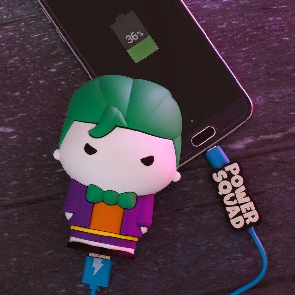 PowerSquad - Figur als Powerbank Joker - DC Comics