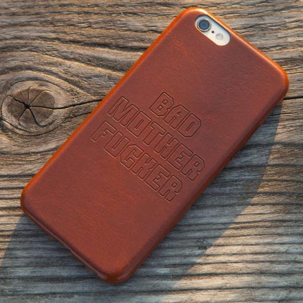 iPhone 6 6S 7 Hülle Case Schutzhülle Motiv Bad Mo Fu - Thumbs Up