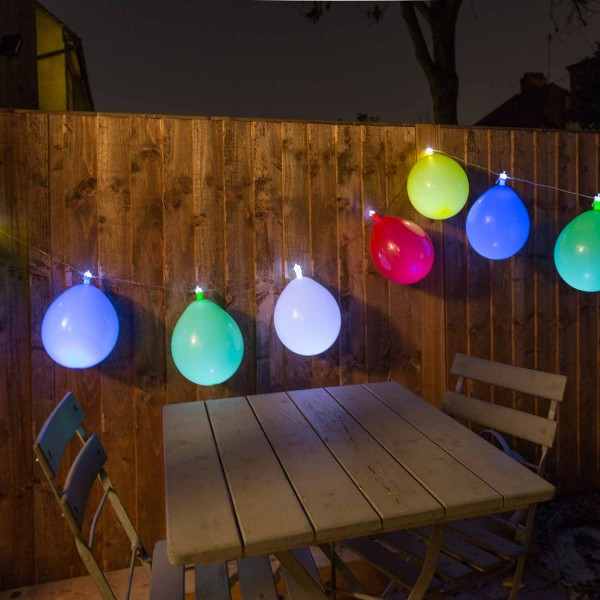 LED Lichterkette LUFTBALLON - Balloon String Lights